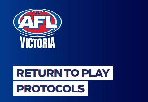 Update July 1 – AFL Victoria Community Football Return To Play Protocols