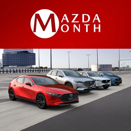September is MAZDA MONTH